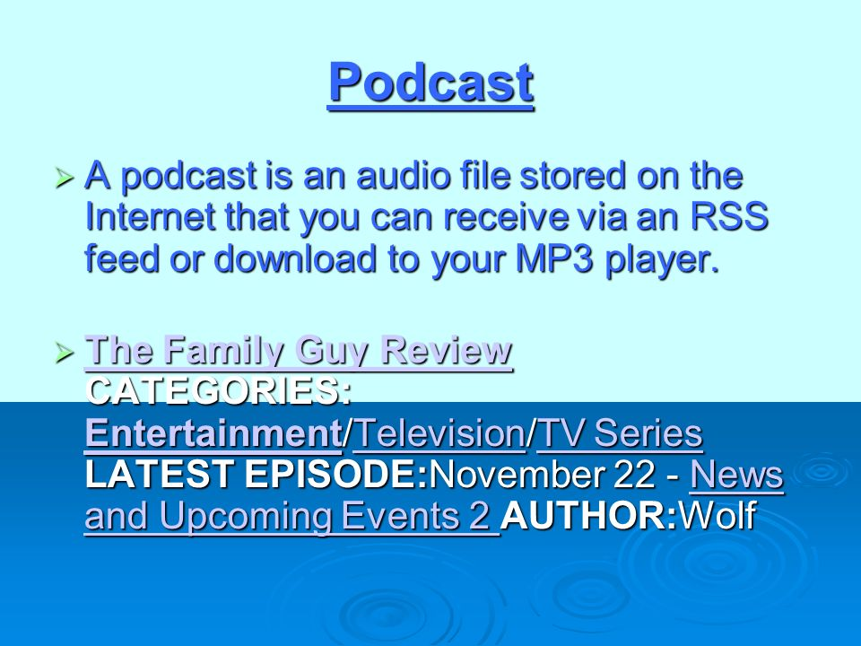 use rss feed to download tv shows