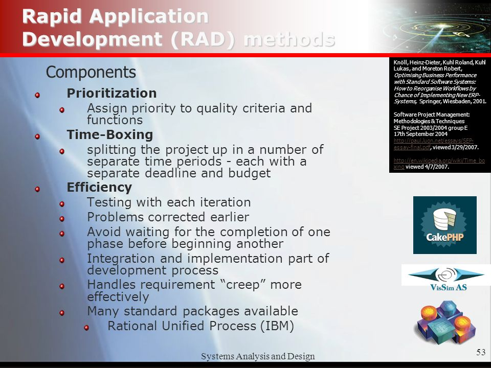 Systems Analysis And Design1 Systems Analysis Design Methods Budhi Buscas Edward Savage Bradley Stockton Ridwan Syafei Ppt Download