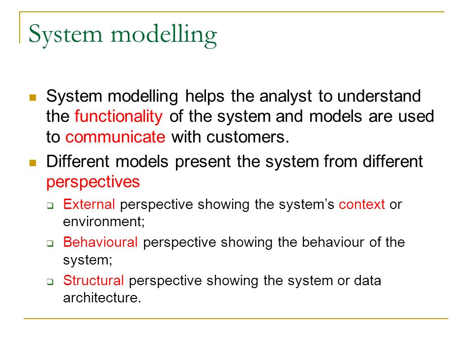 major types of information systems