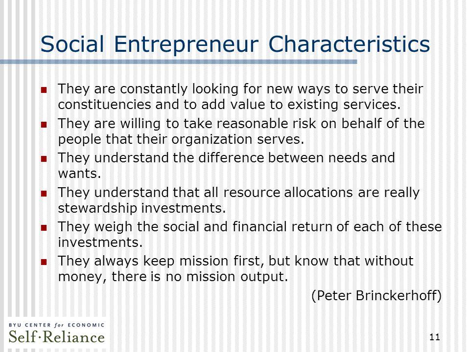 Social Entrepreneurship Sustainable Strategies For Building