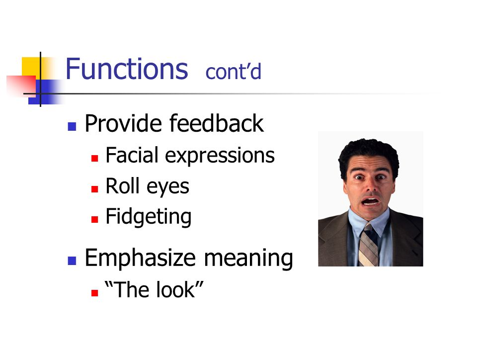 functions of nonverbal communication in the workplace