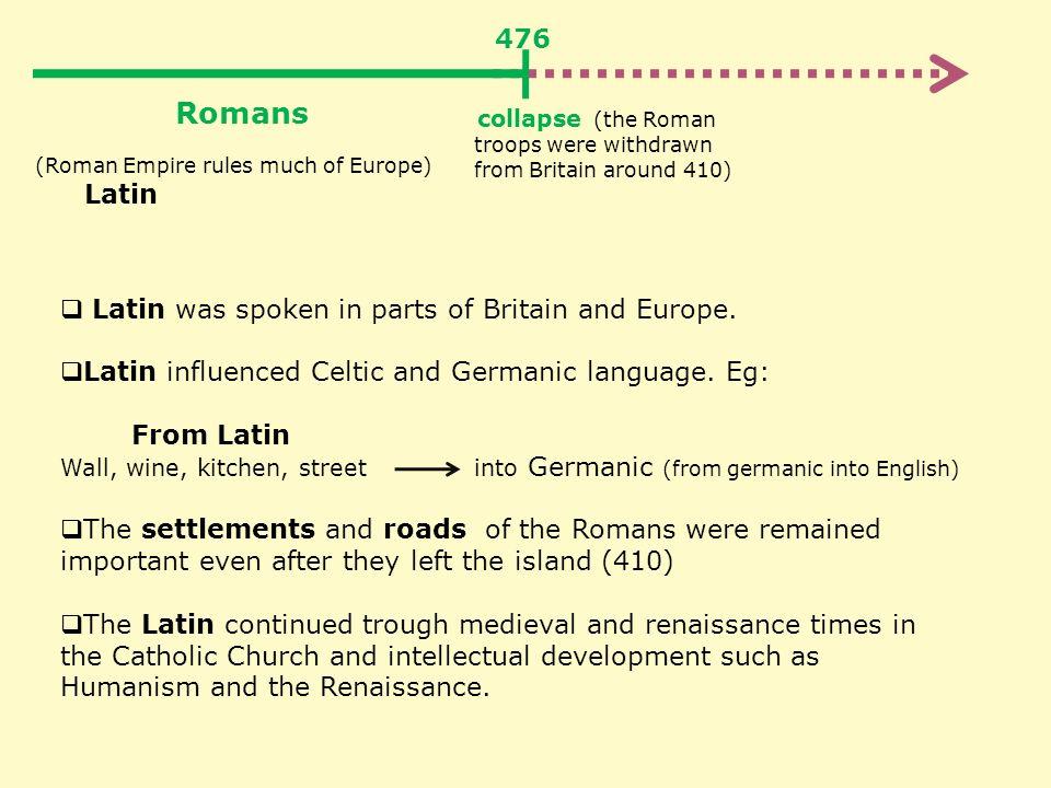 how has latin influenced the english language