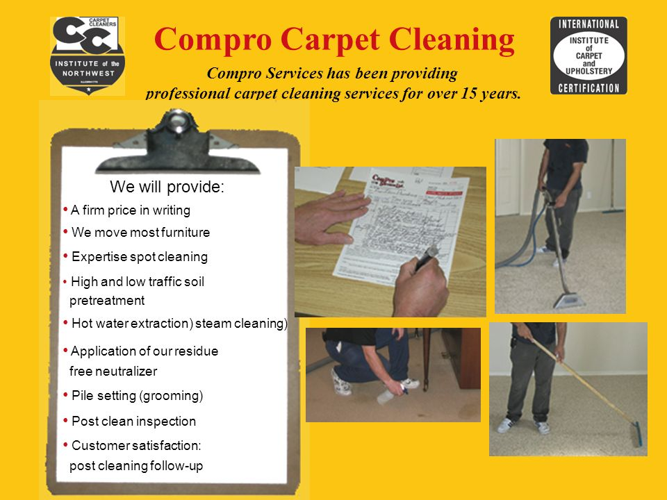 Welcome To The Complete Professionals Compro Services