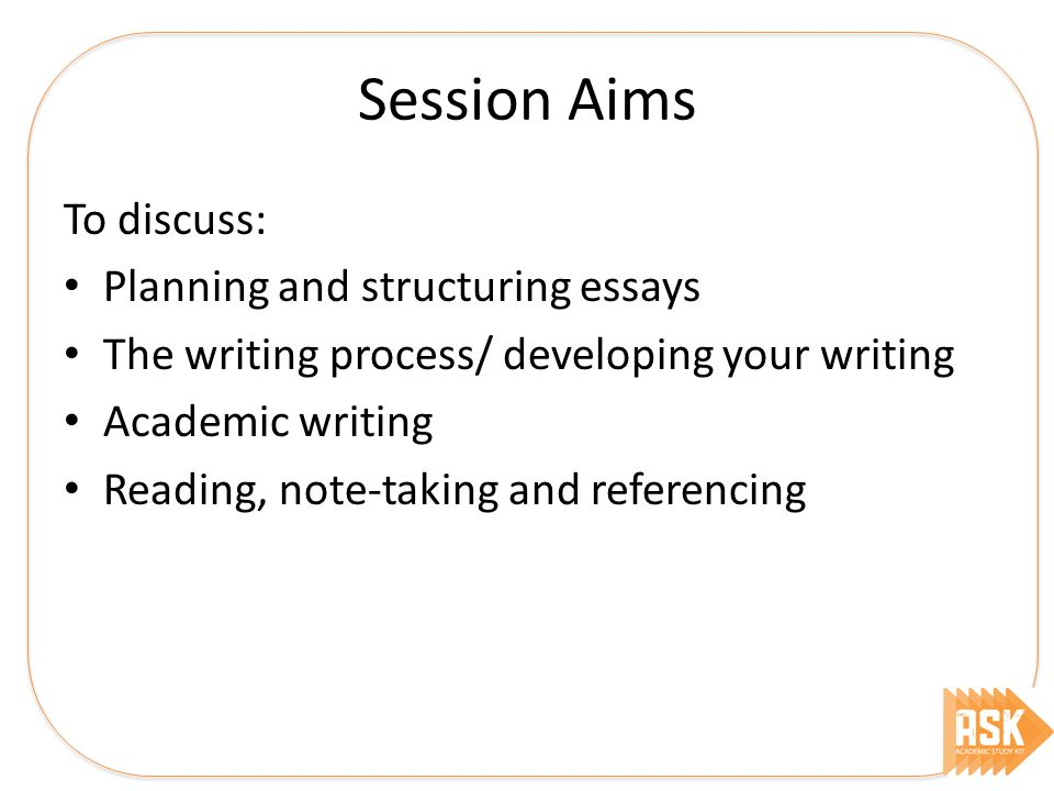The Yellow Wallpaper Character Analysis Essay  Session Aims To Discuss Planning And Structuring Essays The Writing  Process Developing Your Writing Academic Writing Reading Notetaking And   What Is Thesis In An Essay also High School Admissions Essay Study Skills Workshops  Essays Assignments Structuring  Ppt  The Newspaper Essay