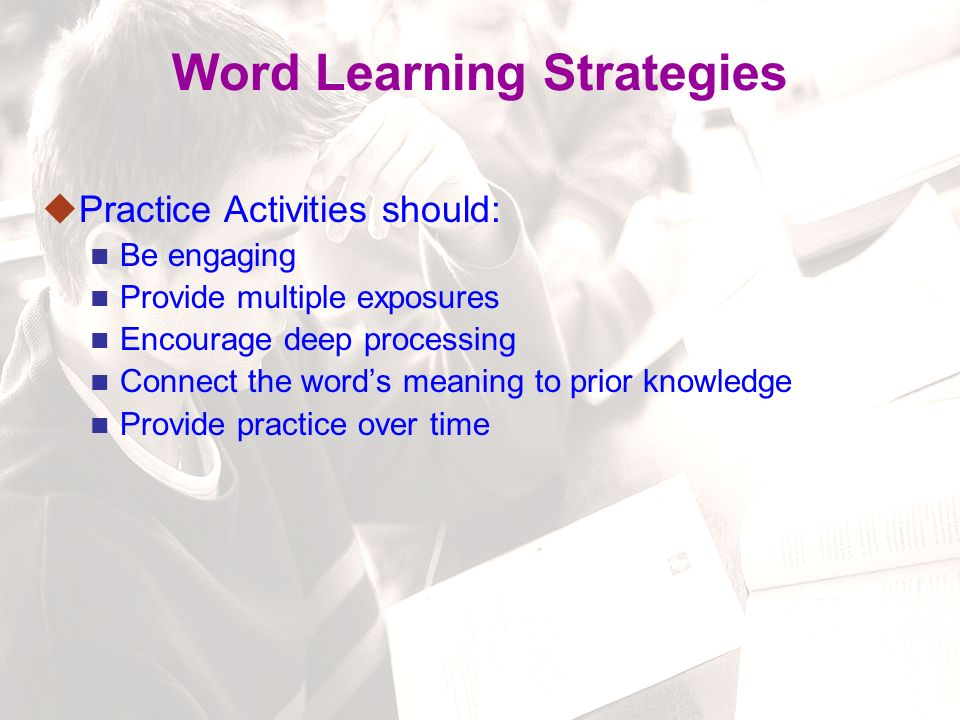 82 Instructional Routine for Vocabulary Step 4: Check students' understanding.