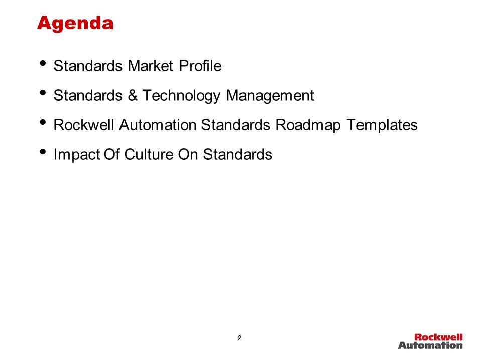 Electronic Controls And Communications The Global Challenge Of - Automation roadmap template