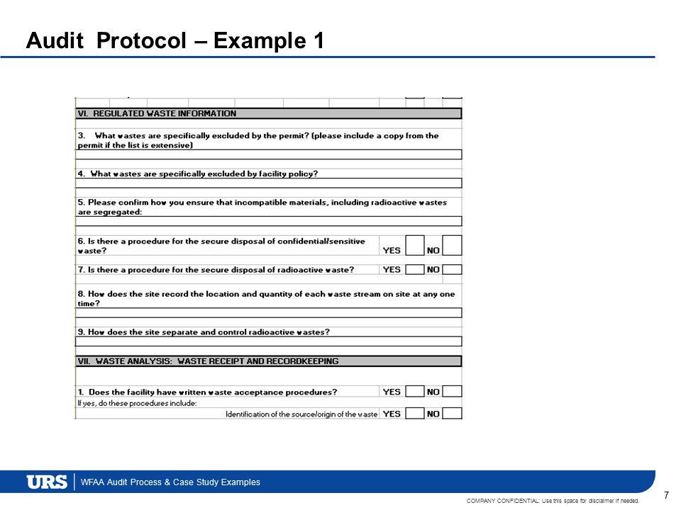 Internal communication audit case study.