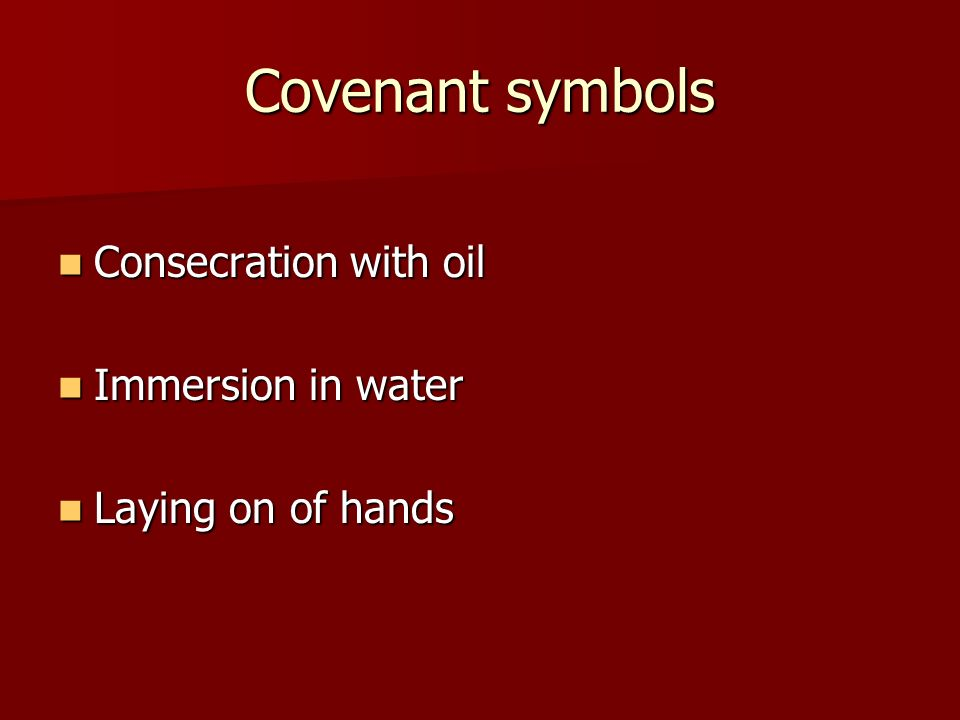 signs and symbols of anointing of the sick They were signs of the  catechist uses their responses to launch into a discussion about the symbols of  in the sacrament of anointing of the sick,.