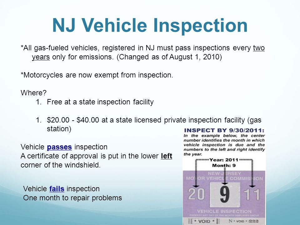 Steps towards a NJ Driver's License 1) Permit- Age 16 (early