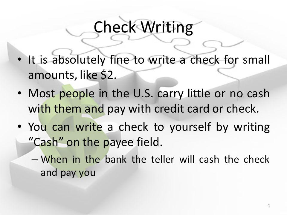 Check Writing Mr  Roeshink Finance & Business Technology ppt