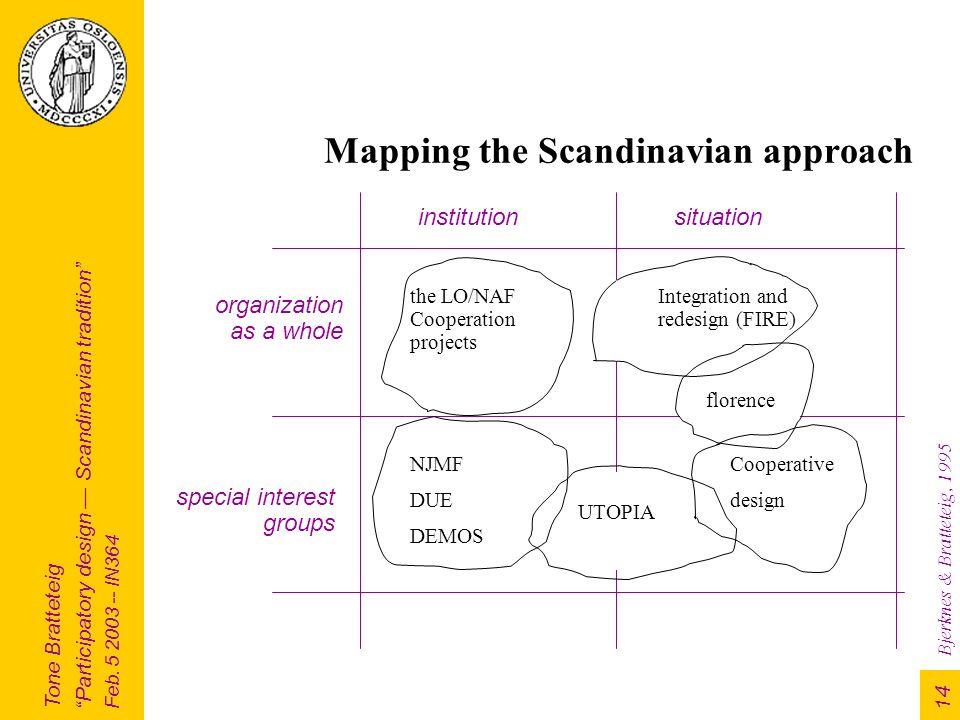 "Tone Bratteteig ""Participatory design — Scandinavian"