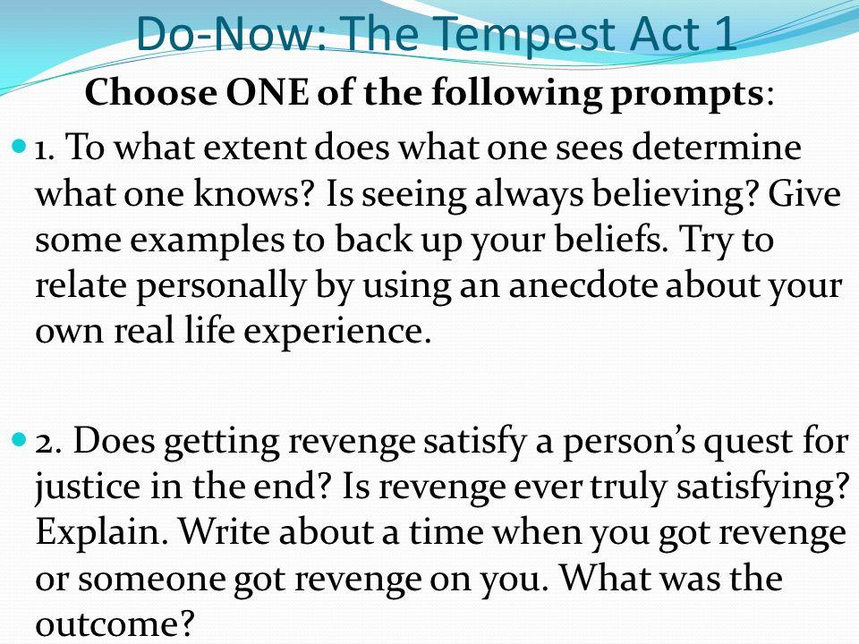 the tempest essay ideas