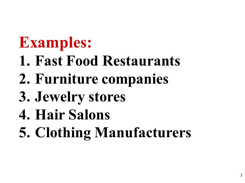 examples of pure competition companies