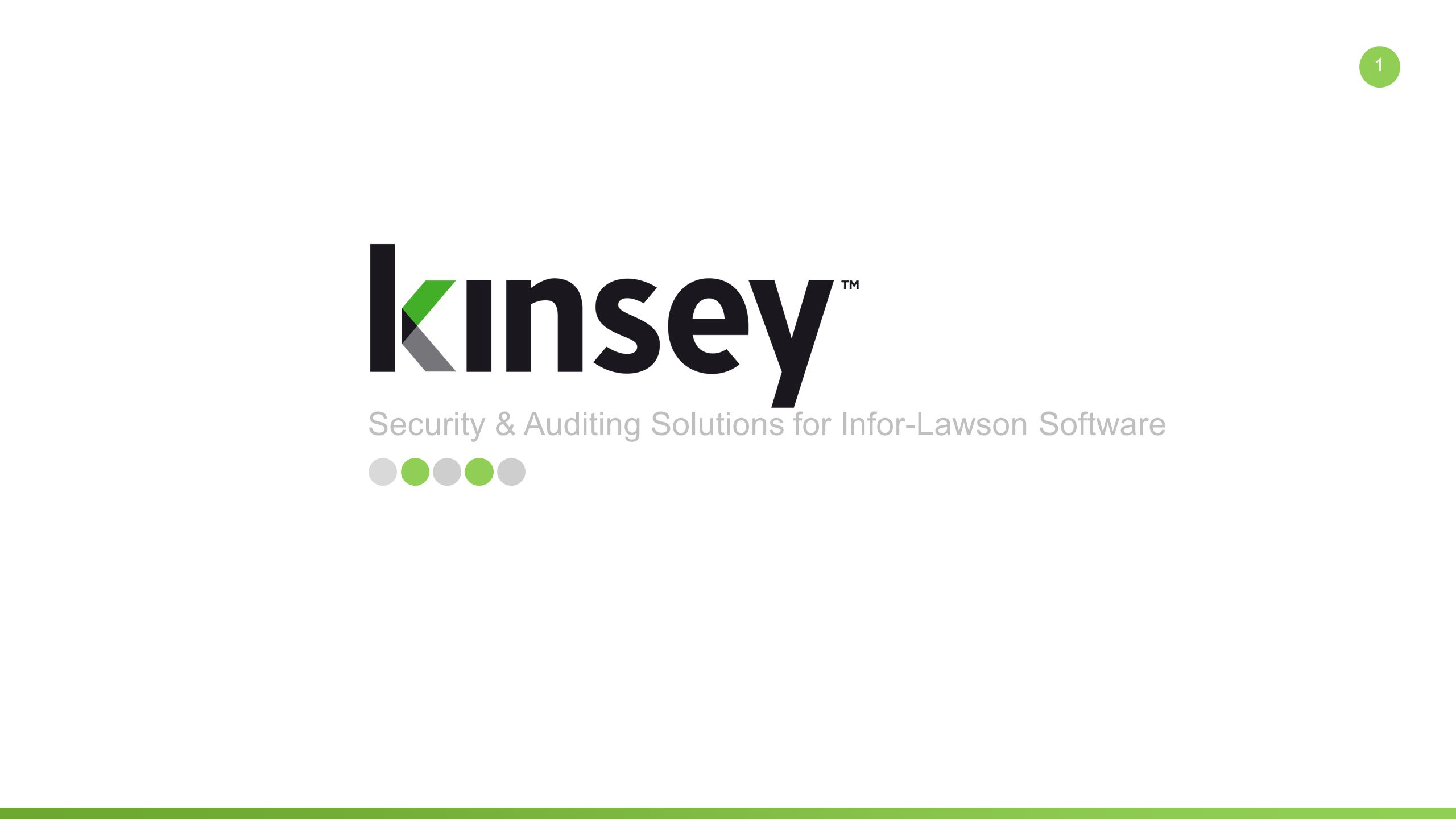 1 security auditing solutions for infor lawson software 1