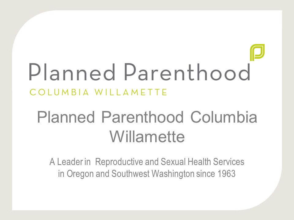 Sexual health planned parenthood