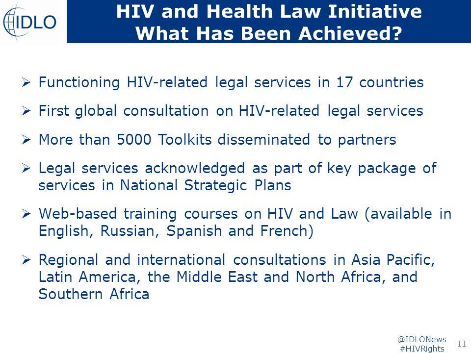 3 year Project Evaluation International Development Law Organization