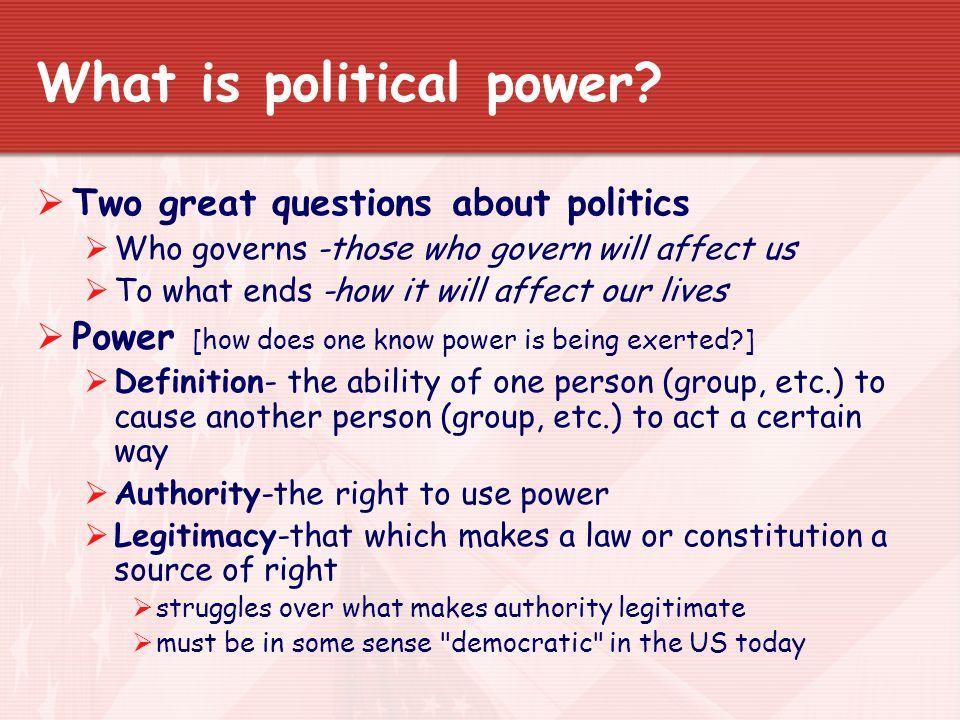 POLITICAL POWER DEFINITION PDF DOWNLOAD