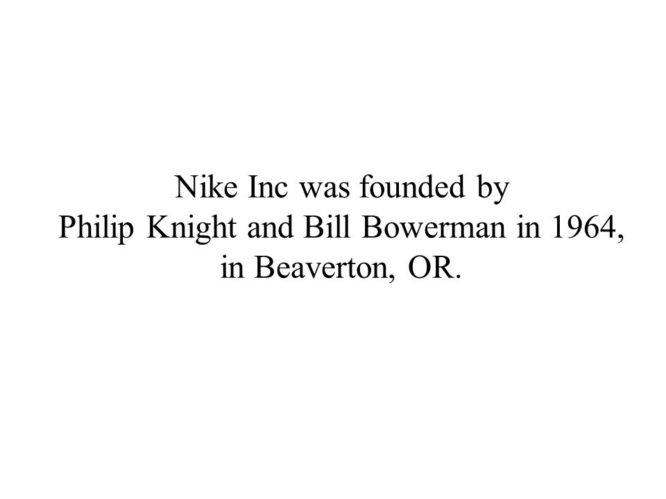 nikebiz beaverton