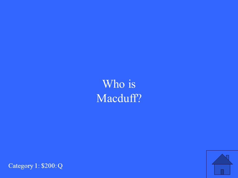 who is macduff