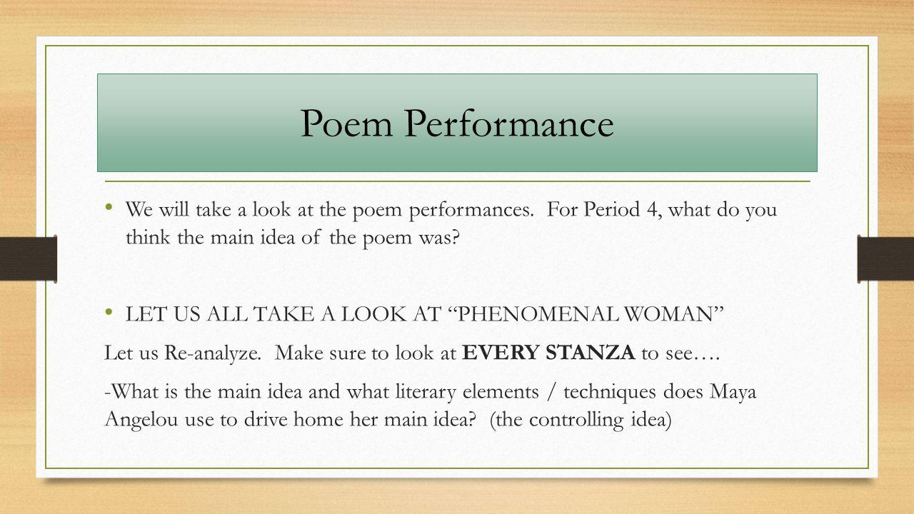 We do an analysis of Bloks poem