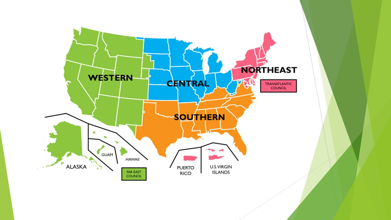 Regions of the United States - ppt download
