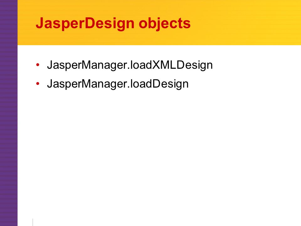 Generating reports with JasperReports Sean C  Sullivan Portland Java