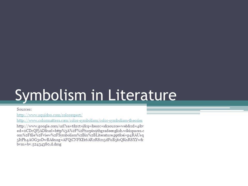 color symbolism in literature