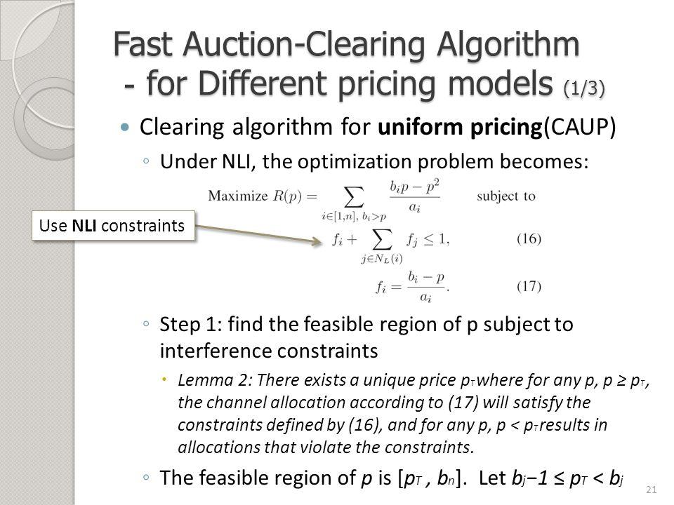 A General Framework for Wireless Spectrum Auctions Sorabh Gandhi