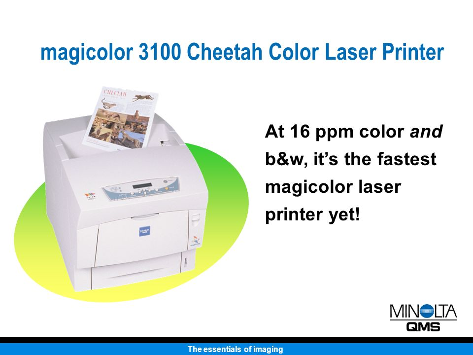 the essentials of imaging keeping black white on the run magicolor rh slideplayer com Brother Printers Manual Brother Printers Manual