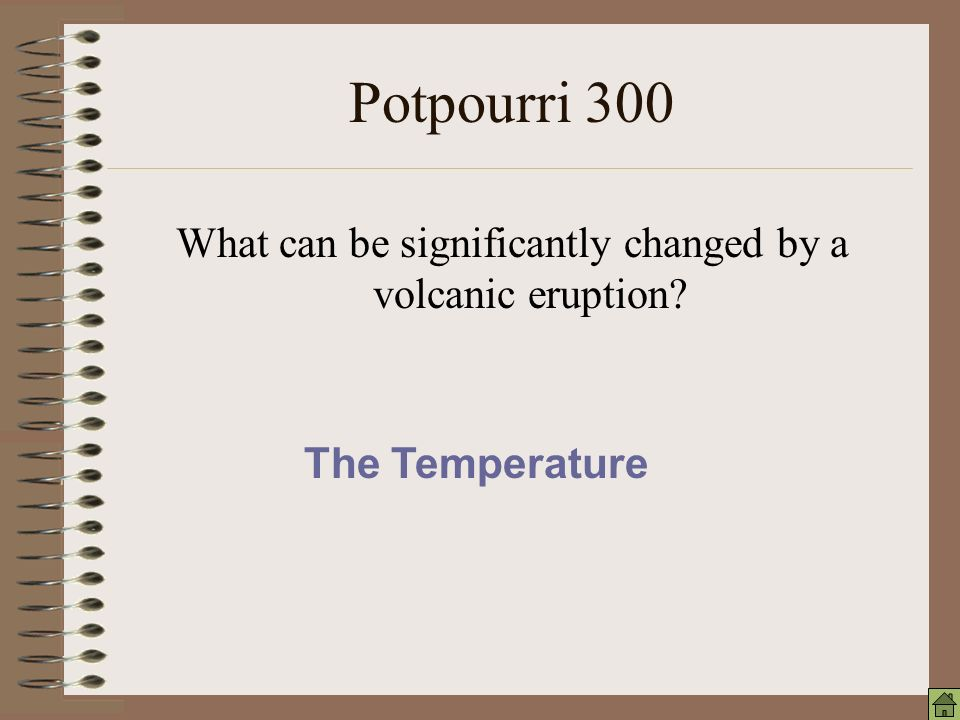 Potpourri 200 Global warming may occur when what type of gasses increase in the atmosphere.