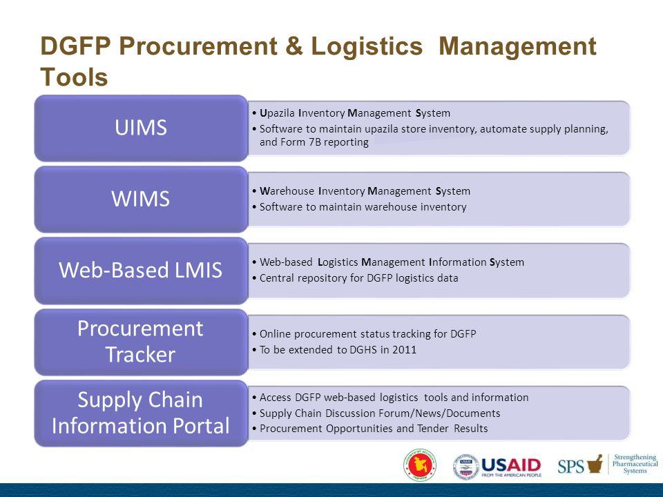 Towards Strengthening Procurement and Logistics Management System