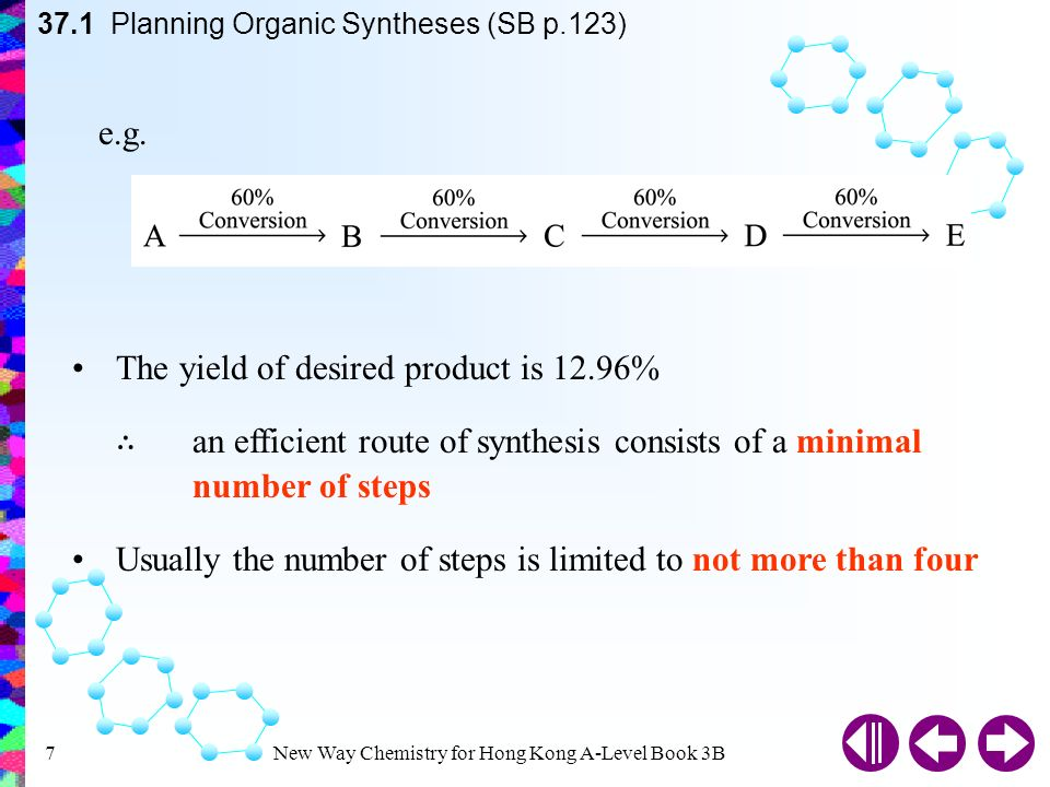 New Way Chemistry for Hong Kong A-Level Book 3B1 Syntheses and