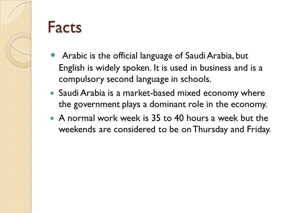 Saudi Arabia Jonathan Campbell 5 th period  Facts Arabic is