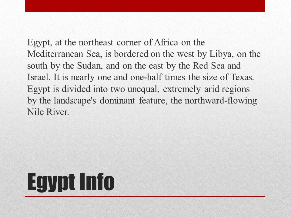 3 Egypt Info