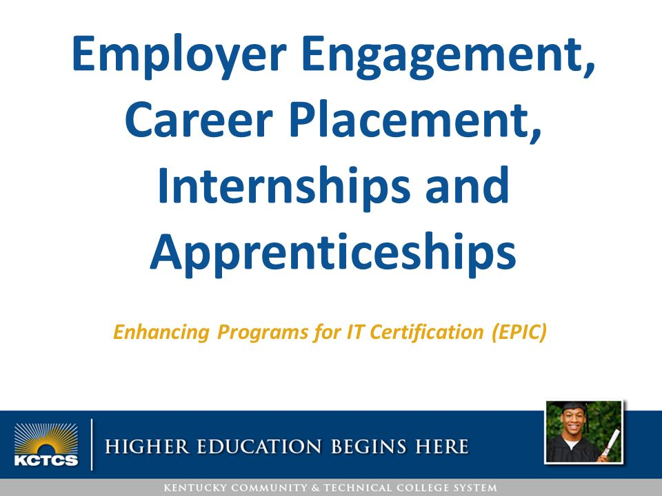 Enhancing Programs For It Certification Epic Employer Engagement