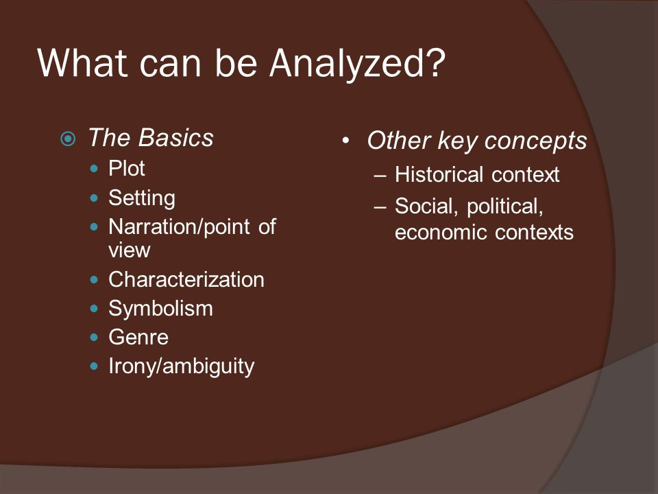 What Is Literary Analysis Its Literary Its An Analysis