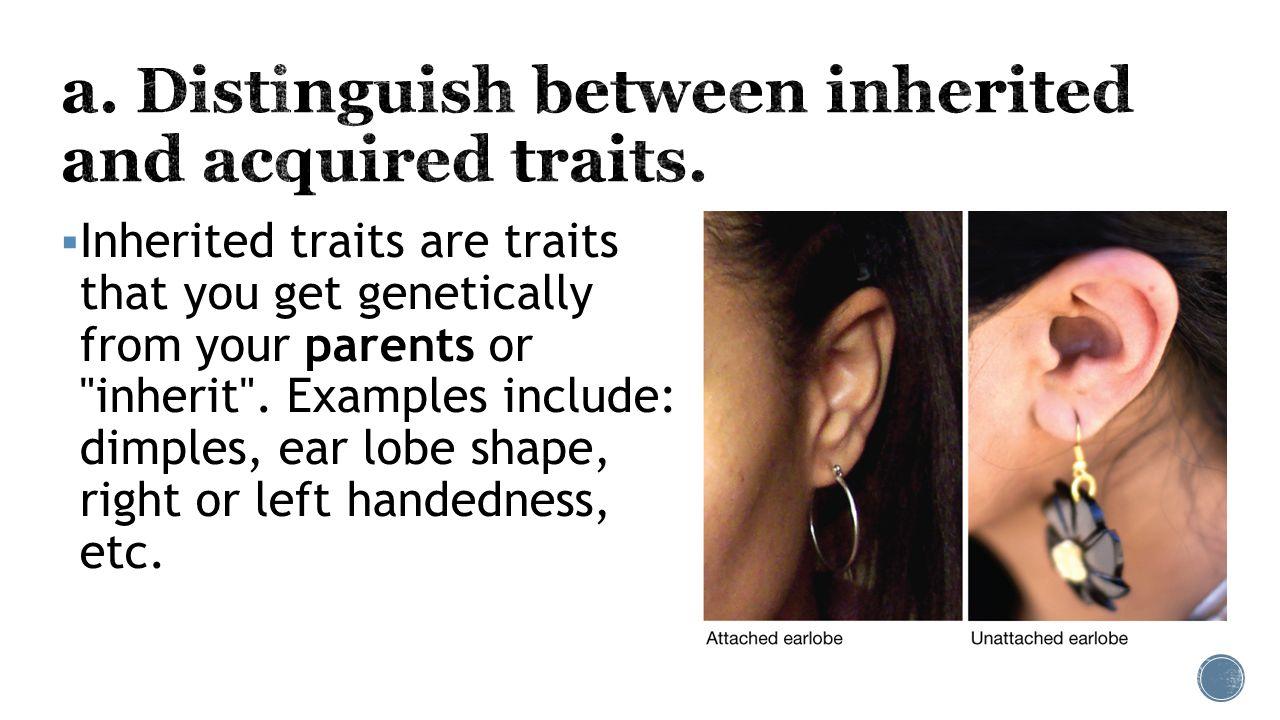 Left-handedness is inherited