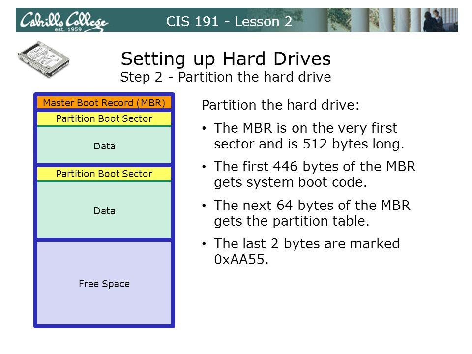 CIS Lesson 2 Storage Devices  CIS Lesson 2 Floppy drive and