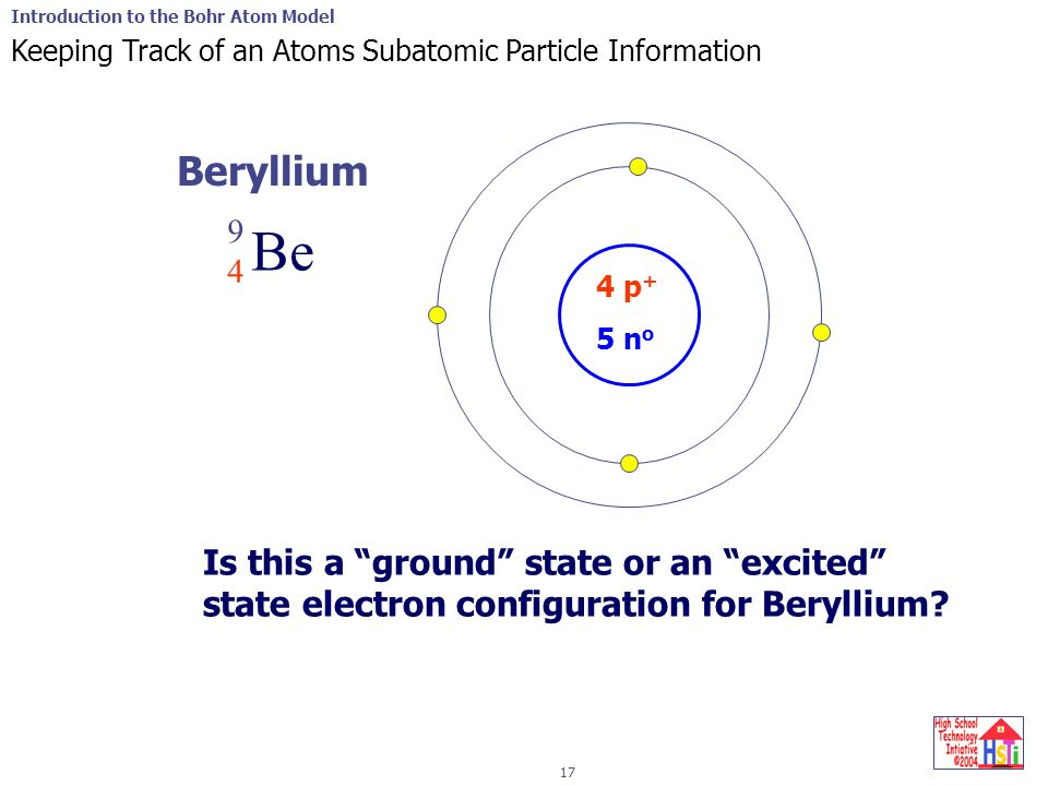 Introduction To The Bohr Atom Model 1 2 Electrons That Leave One