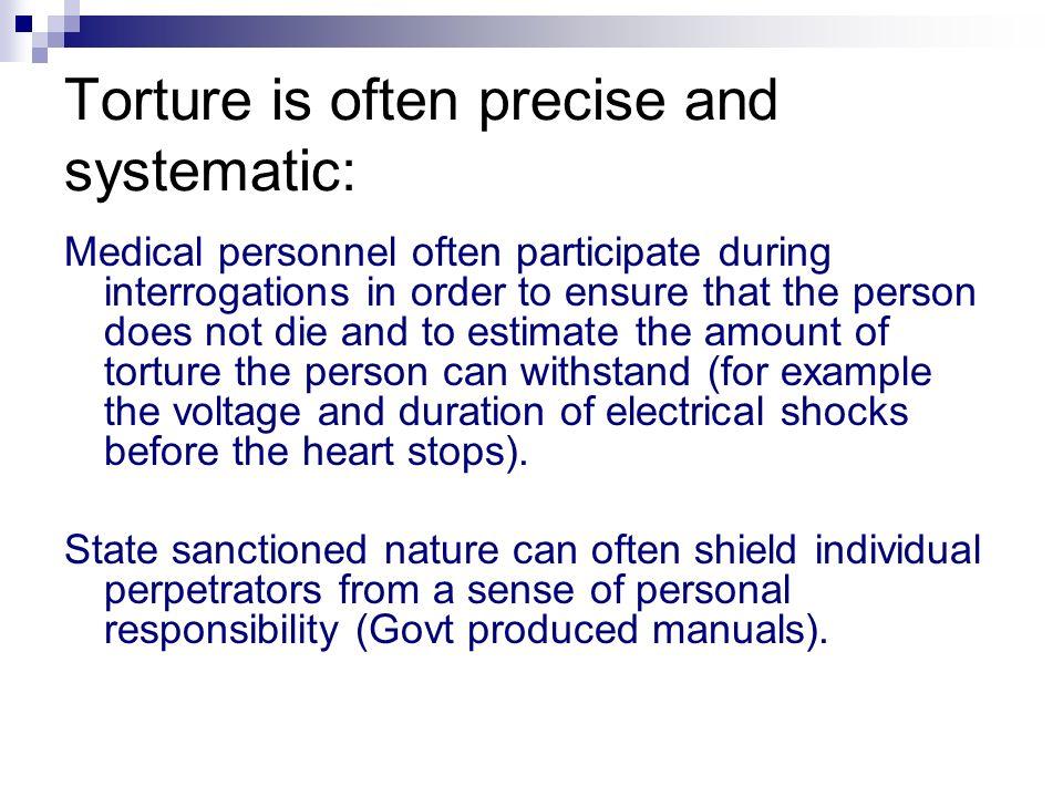 state sanctioned violence definition