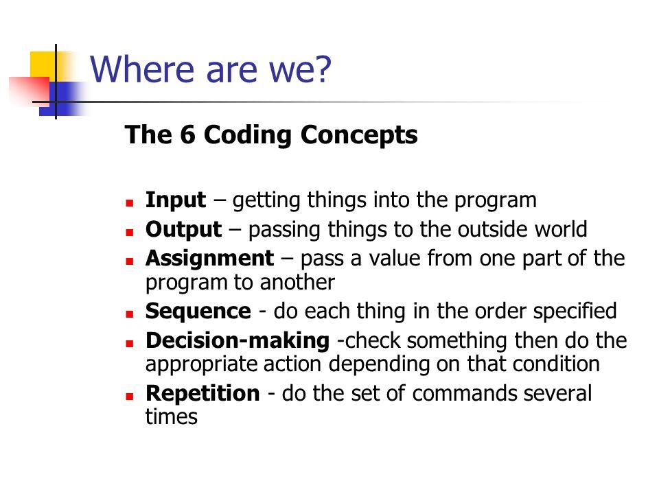 iteration and simple menus deterministic non deterministic loops