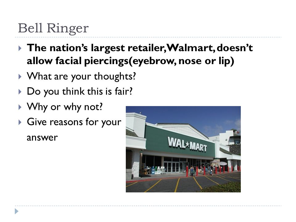 Bell Ringer The Nation S Largest Retailer Walmart Doesn T