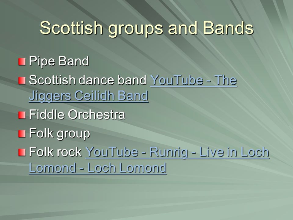 Music of Scotland Standard Grade/Intermediate 2 level  - ppt