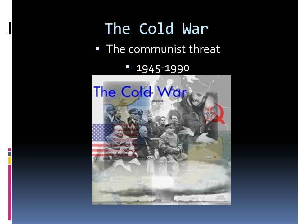 an analysis of the causes of the cold war between the communist and non communist nations The spread of communism during the cold war was a threat to this ideal because under this ideology the rule of the market is replaced by the rule of communists saw wealth as created by workers, not by capitalists the workers' state, therefore, was entitled to appropriate foreign companies and their.
