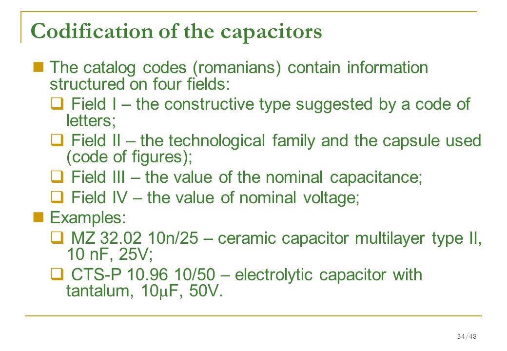 1/48 Passive components and circuits - CCP Lecture ppt download