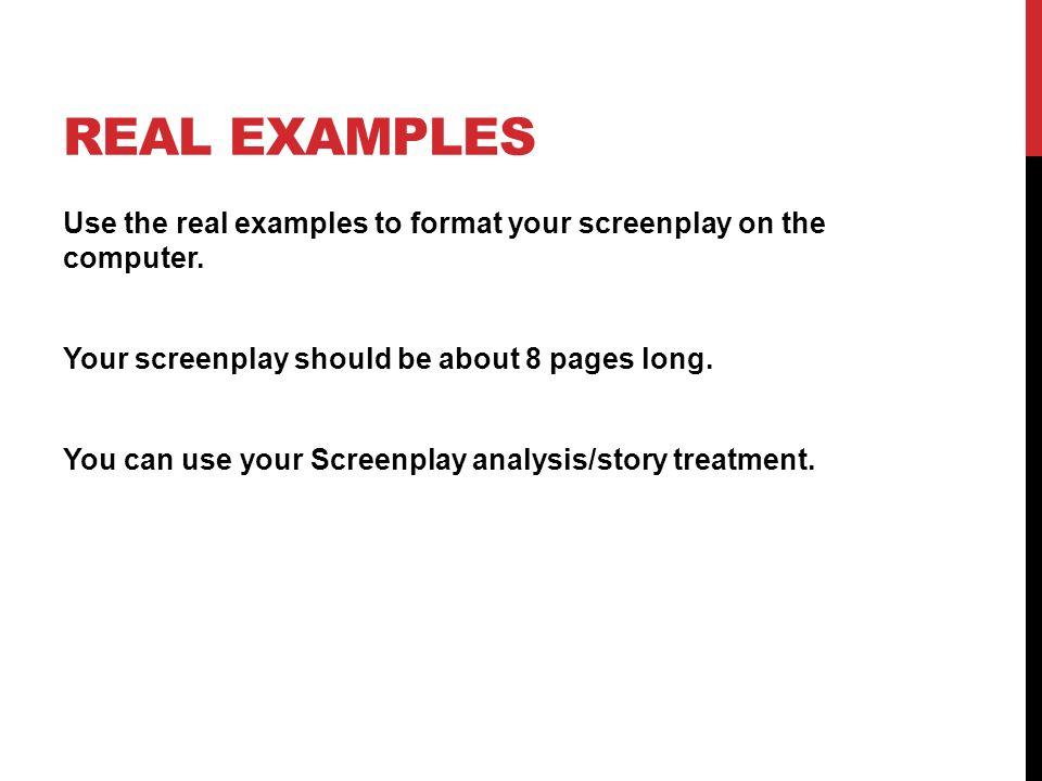 writing screenplays standard 1 0 script writing ppt download