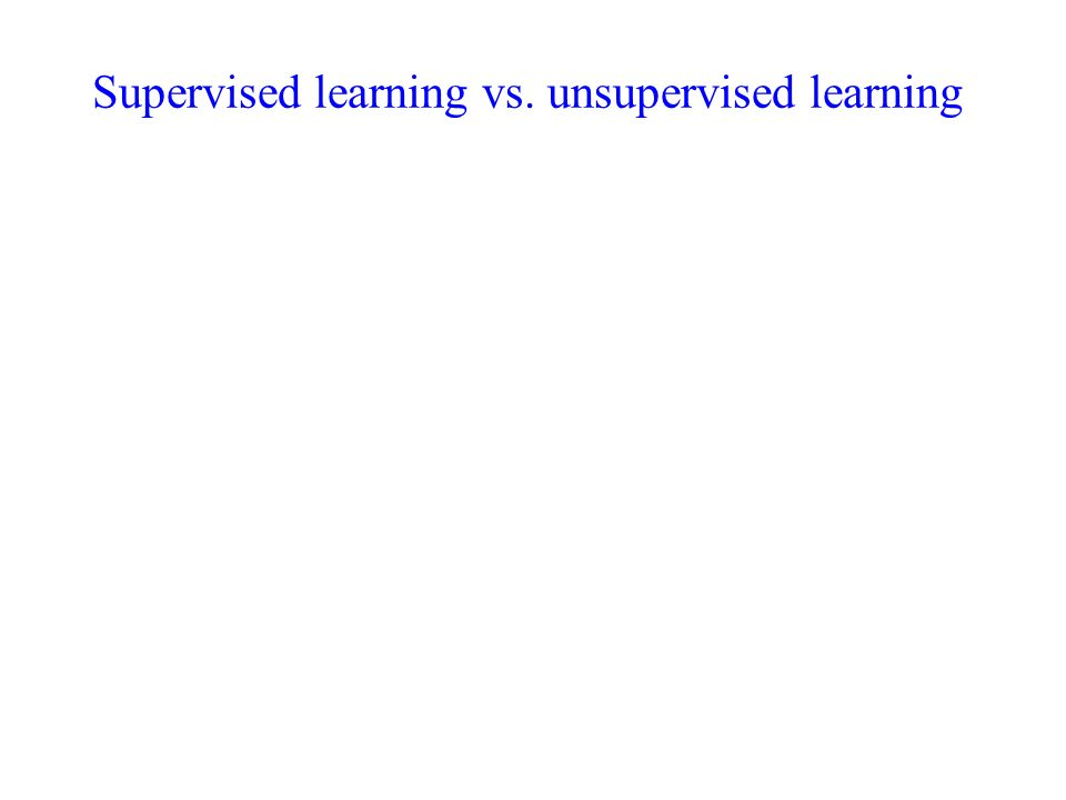 Unsupervised Learning Reading Chapter 8 From Introduction To Data