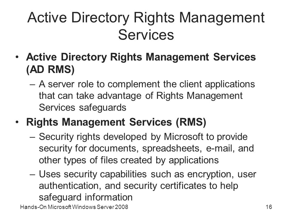 Hands-On Microsoft Windows Server Security Enhancements in