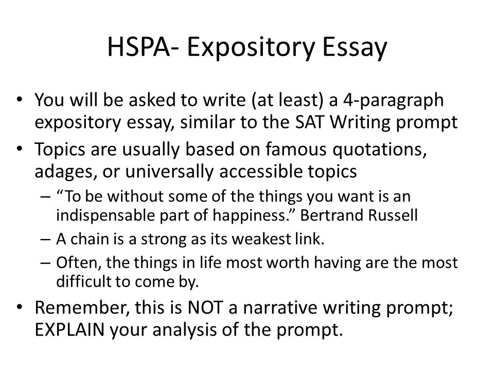 Thesis Generator For Essay Hspa Expository Essay You Will Be Asked To Write At Least A  How To Write A Research Essay Thesis also Marriage Essay Papers Hspa Expository Essay You Will Be Asked To Write At Least A   Healthy Food Essays