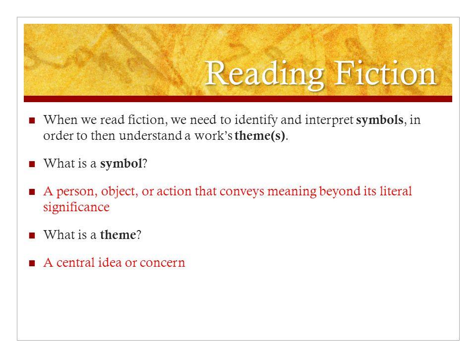 Modern Short Stories British Literature Theme And Symbolism Ppt